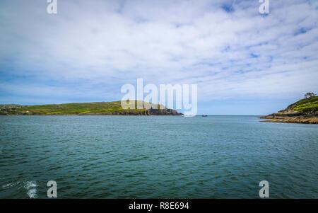 walk to the White Beacon near Baltimore, West Cork, Ireland - Stock Photo