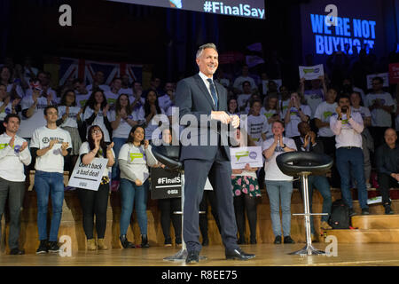 Best for Britain and the People's Vote campaign hold a joint rally in central London to call on MPs to say 'we are not buying it' over the Prime Minister's Brexit 'deal'.  Featuring: Gary Lineker Where: London, United Kingdom When: 13 Nov 2018 Credit: Wheatley/WENN - Stock Photo