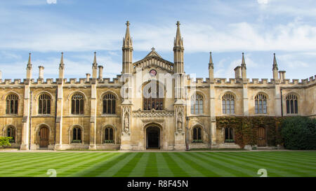 College of Corpus Christi and the Blessed Virgin Mary in Cambridge, United Kingdom - Stock Photo