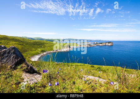 Far East Marine Reserve. Primorsky region, Russia - Stock Photo