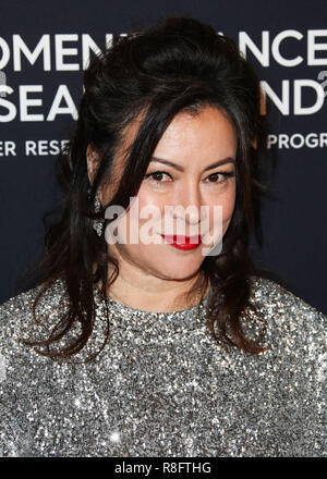 BEVERLY HILLS, LOS ANGELES, CA, USA - FEBRUARY 27: Jennifer Tilly at The Women's Cancer Research Fund's An Unforgettable Evening Benefit Gala held at The Beverly Wilshire Hotel on February 27, 2018 in Beverly Hills, Los Angeles, California, United States. (Photo by Xavier Collin/Image Press Agency) - Stock Photo