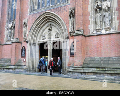 The Metropolitan Cathedral Church and Basilica of Saint Chad or St Chads Cathedral ( Roman Catholic ), Queensway, Birmingham, England, UK - Stock Photo