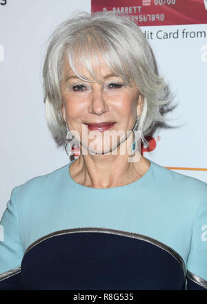 BEVERLY HILLS, LOS ANGELES, CA, USA - FEBRUARY 05: Helen Mirren at AARP's 17th Annual Movies For Grownups Awards held at The Beverly Wilshire Beverly Hills (A Four Seasons Hotel) on February 5, 2018 in Beverly Hills, Los Angeles, California, United States. (Photo by Xavier Collin/Image Press Agency) - Stock Photo