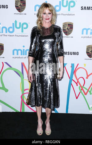 BEVERLY HILLS, LOS ANGELES, CA, USA - NOVEMBER 03: Actress Melanie Griffith arrives at Goldie's Love In For Kids 2017 held at Ron Burkle's Green Acres Estate on November 3, 2017 in Beverly Hills, Los Angeles, California, United States. (Photo by Xavier Collin/Image Press Agency) - Stock Photo