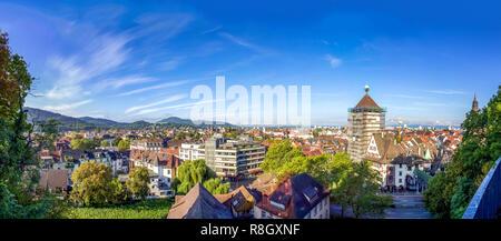 Cathedral, Freiburg im Breisgau, Germany - Stock Photo