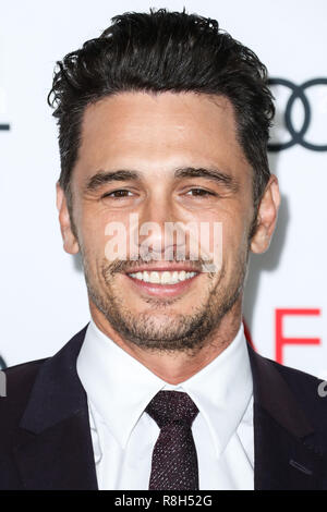 HOLLYWOOD, LOS ANGELES, CA, USA - NOVEMBER 12: James Franco arrives at the AFI FEST 2017 - Screening Of 'The Disaster Artist' held at the TCL Chinese Theatre IMAX on November 12, 2017 in Hollywood, Los Angeles, California, United States. (Photo by Xavier Collin/Image Press Agency) - Stock Photo