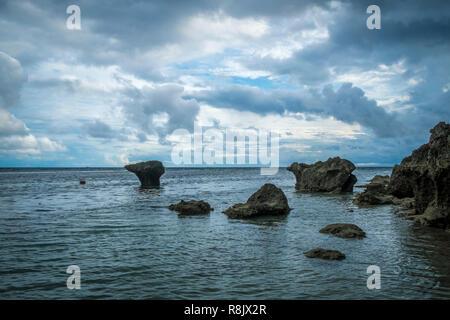 an den Sandbuchten im Süden von Mindanao - Stock Photo