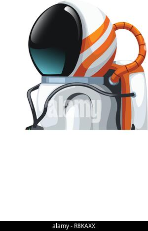 A Space Element and Astronaut illustration Stock Vector ...