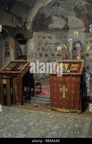Interior of the church of Sveta Petka of saddlers - Stock Photo