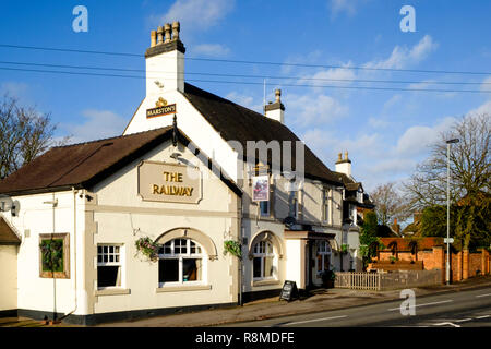 Shenstone is a small village is Staffordshire England UK - Stock Photo