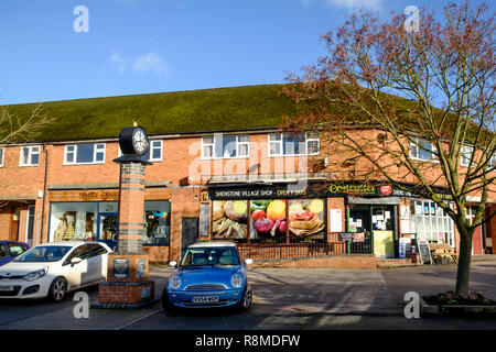 Shenstone is a small village is Staffordshire England UK  Shenstone Village Store - Stock Photo