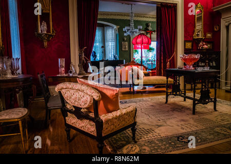 inside the toronto spadina house once occupied by the wealthy austin family in the 1920s - Stock Photo