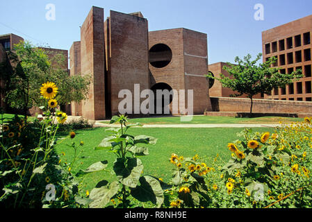 IIM Indian Institute Of Management, ahmedabad, gujarat, india - Stock Photo