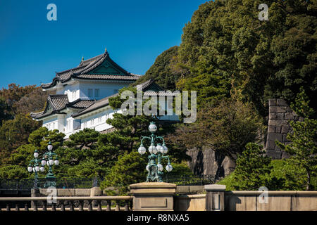 The Tokyo Imperial Palace - Stock Photo