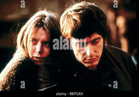 Kitty Winn, Al Pacino,  'The Panic in Needle Park' (1971) 20th Century Fox  File Reference # 33635_614THA - Stock Photo