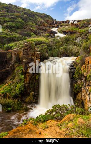 Quinninup Falls, Margaret River, Western Australia - Stock Photo