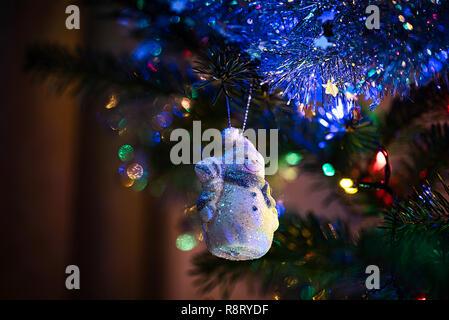 Christmas Tree Decorations Christmas Balls With Bokeh
