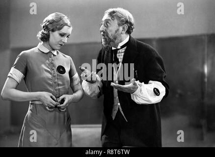Prod DB © Tobis / DR A NOUS LA LIBERTE de Rene Clair 1931 FRA. Rolla France Paul Ollivier (as Paul Olivier). - Stock Photo