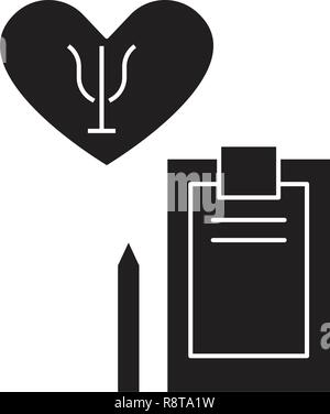 Psychotherapy black vector concept icon. Psychotherapy flat illustration, sign - Stock Photo