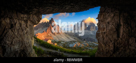 Tre Cime Di Lavaredo, Italy - Stock Photo
