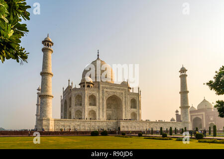 The Golden Triangle cities of Delhi, Agra and Jaipur in Northern India - Stock Photo