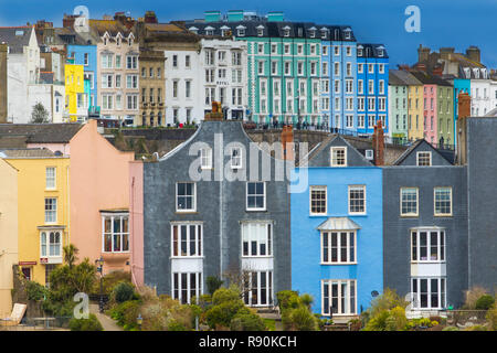Tenby Pembrokeshire. South Wales. UK - Stock Photo