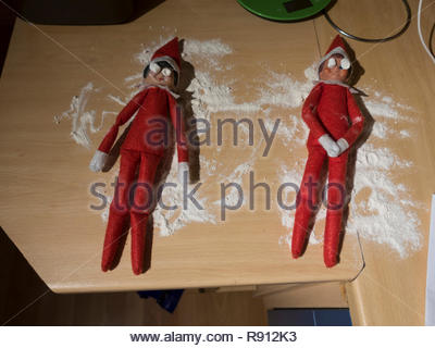 Elf On The Shelf - Stock Photo