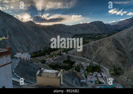Trekking in Ladakh, Northern India - Stock Photo