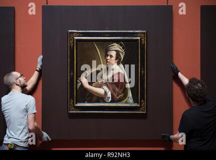 Self Portrait As Saint Catherine Of Alexandria Museum National