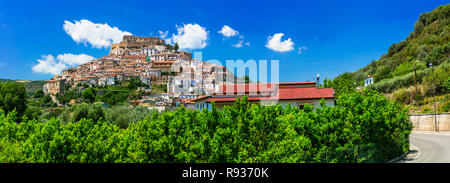 Beautiful Rocca Imperiale village,Cosenza,Calabria,Italy. - Stock Photo