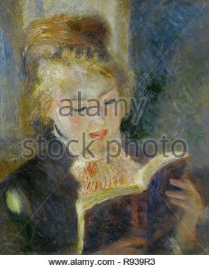La liseuse-the reader, 1874-1876 Canvas, 46,5 x 38,5 cm