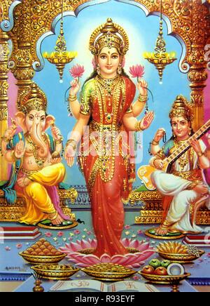 Indian God - Stock Photo