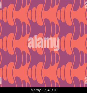 Abstract seamless geometric background with different organic forms. Vector minimalistic ornament for fabric, web page background, wallpaper, wrapping - Stock Photo