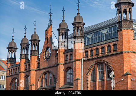Hala Targowa Market Hall  Gdańsk Poland - Stock Photo