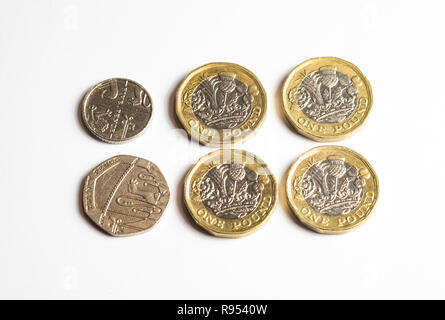 UK state pension increase of 4.25 per week from April 2019 - Stock Photo