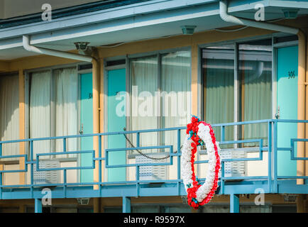 Room 306 at the Lorraine Motel is pictured, Sept. 7, 2015, in Memphis, Tennessee. Dr. Martin Luther King, Jr., was shot and killed there. - Stock Photo