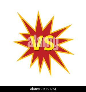 VS, competition, championship, challenge - Stock Photo