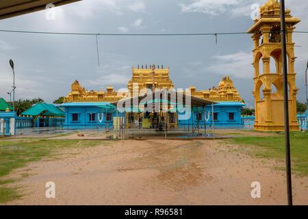 Sri Lakshmi Narayana Perumal Kovil Temple - Stock Photo