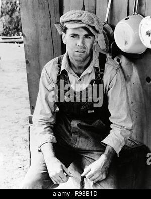 Original film title: THE GRAPES OF WRATH. English title: THE GRAPES OF WRATH. Year: 1940. Director: JOHN FORD. Stars: HENRY FONDA. Credit: 20TH CENTURY FOX / Album - Stock Photo