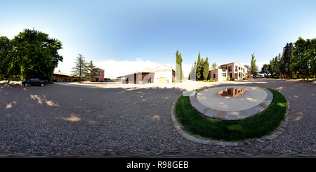 360 View Of Winery Terrazas De Los Andes In Mendoza