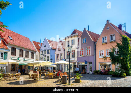 Bremen, Schnoorviertel, Schnoor, Germany - Stock Photo
