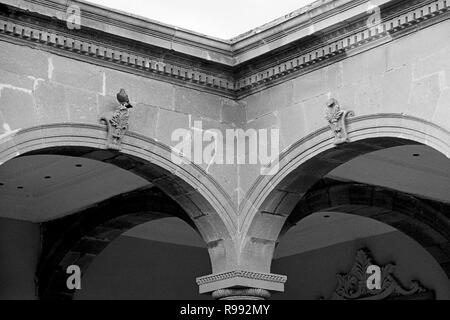 MONTERREY, NL/MEXICO - NOV 10, 2003: Interiors detail of the Governor's Palace. A museum since 2006. - Stock Photo