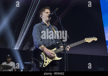Artists perform at the Roundhouse for Music 4 Mental Health  Featuring: Conor Mason Where: London, United Kingdom When: 18 Nov 2018 Credit: Neil Lupin/WENN - Stock Photo