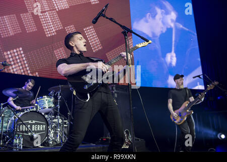 Artists perform at the Roundhouse for Music 4 Mental Health  Featuring: Louis Berry Where: London, United Kingdom When: 18 Nov 2018 Credit: Neil Lupin/WENN - Stock Photo
