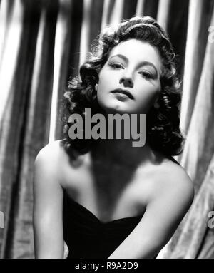 AVA GARDNER. 1940. - Stock Photo