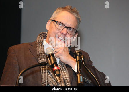 Philadelphia, PA, USA. 20th Dec, 2018. Philadelphia native, and Academy Award winning Writer/Director of The Big Short, Adam McKay returns to his hometown to receive the third annual Lumière Award from the Philadelphia Film Society before a special advance screening of his new movie VICE at the Philadelphia Film Center in Philadelphia, Pa on December 20, 2018. Credit: : Star Shooter/Media Punch ***House Coverage***/Alamy Live News - Stock Photo