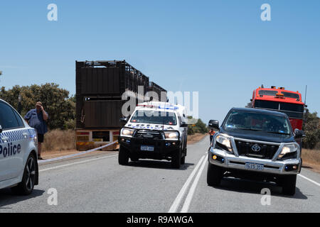 Cataby, Australia  22nd December, 2018  Major Crash Investigators