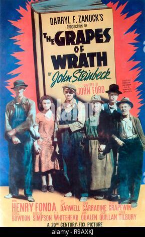 Original film title: THE GRAPES OF WRATH. English title: THE GRAPES OF WRATH. Year: 1940. Director: JOHN FORD. Credit: 20TH CENTURY FOX / Album - Stock Photo