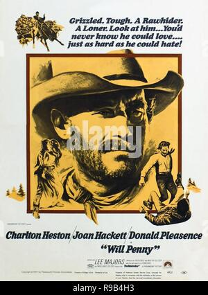 WILL PENNY 1968 Paramount Pictures western film with Joan