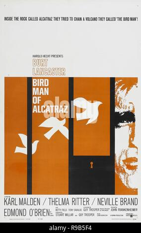 Original film title: BIRDMAN OF ALCATRAZ. English title: BIRDMAN OF ALCATRAZ. Year: 1962. Director: JOHN FRANKENHEIMER. Credit: UNITED ARTISTS / Album - Stock Photo